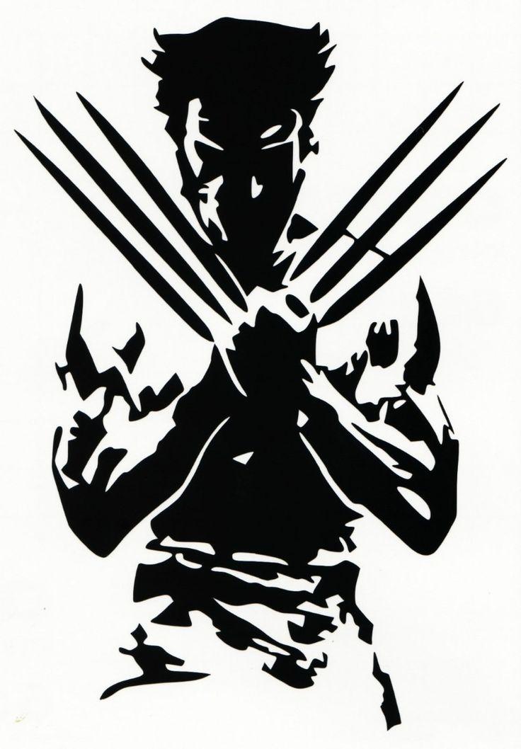 Wolverine Silhouette X Men Vinyl Decal Sticker BallzBeatz