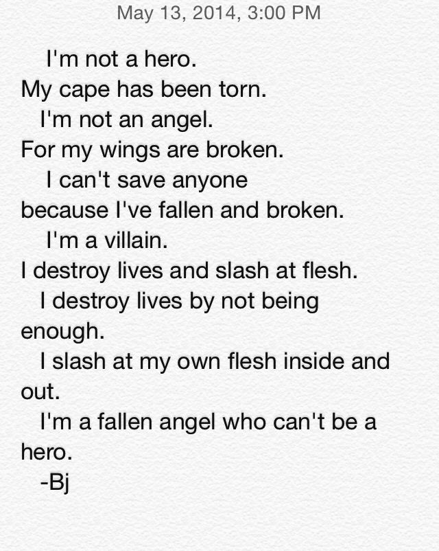 we scream, we shout, we are the fallen angels<< what i was thinking...