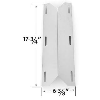 Grill parts gallery in USA, Canada -grill parts for all major grill brands: Sterling Forge Stainless Steel Heat Plate | Replac...
