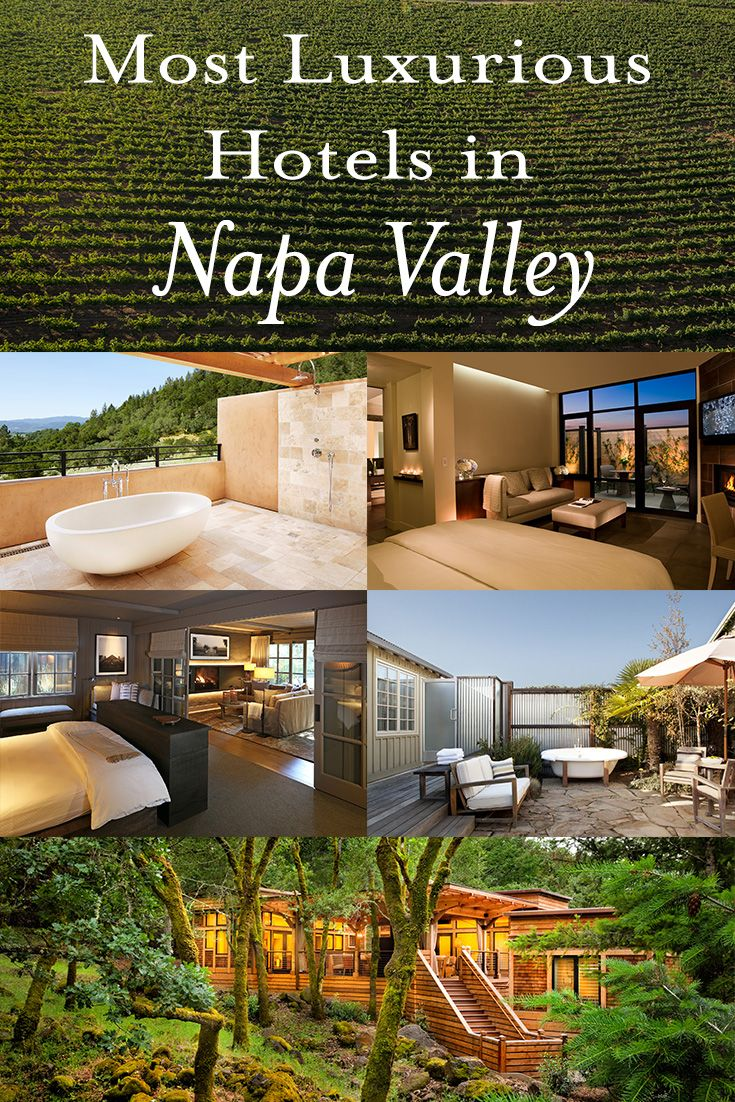 Napa Valley S Most Luxurious Hotel Rooms
