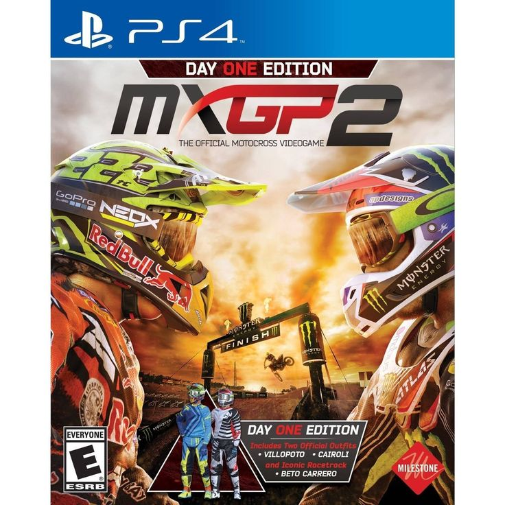 Just in time for Christmas MXGP 2 Day One Edition Sony Playstation 4 PS4 Video Game.
