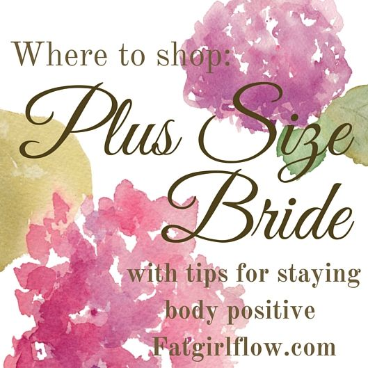 Plus size shopping is tough, finding something you feel great in for your wedding day shouldn't have to be. You're going to be a beautiful plus size bride!
