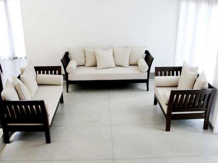 Sleek Wooden Sofa Designs
