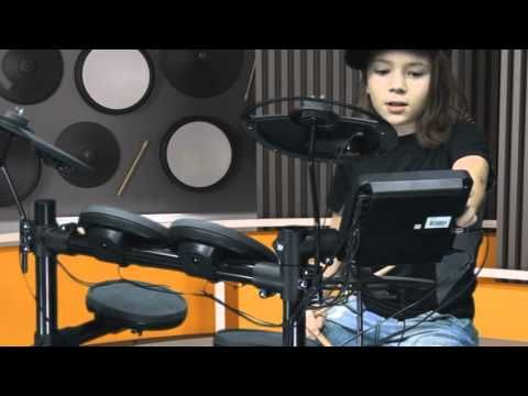 Yamaha DTX 400 - YouTube