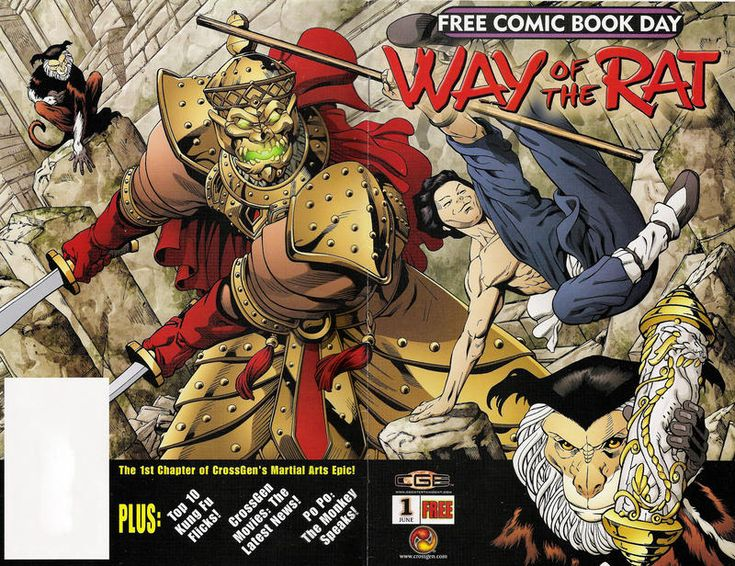 Cover for Way of the Rat [Free Comic Book Day] (CrossGen, 2003 series)