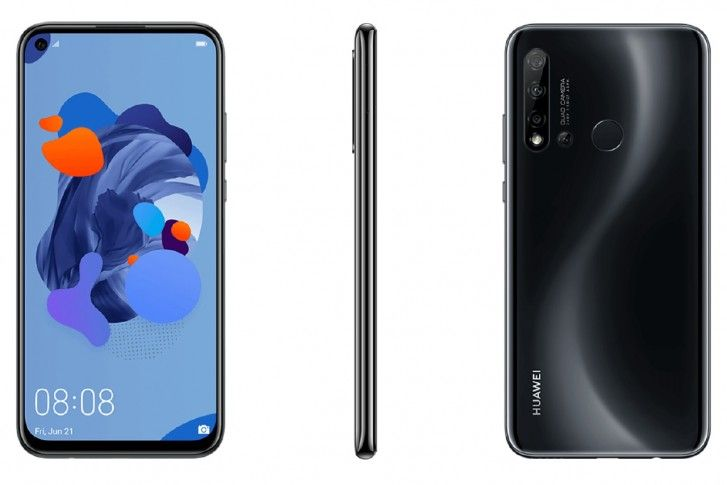 Huawei P20 Lite 2019 Surfaced Online With Key Specifications Huawei Samsung Galaxy Phone Finger Print Scanner