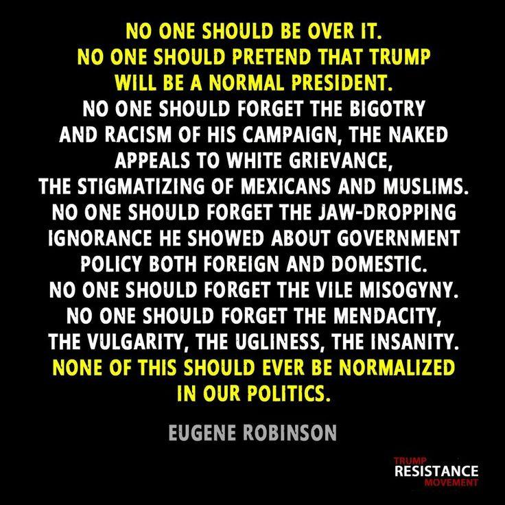 Trashy Trump