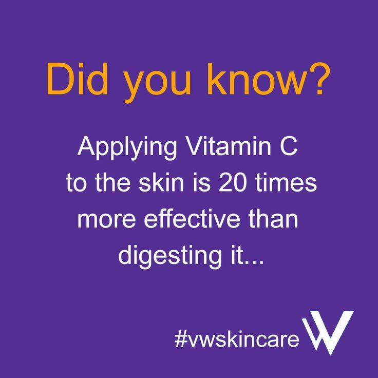 The IMAGE Skincare Vital C range is packed full of vitamin C. Purchase at www.vwskincare.co.uk