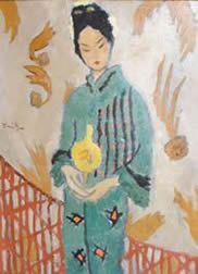 Femeia japoneza - Nicolae Tonitza