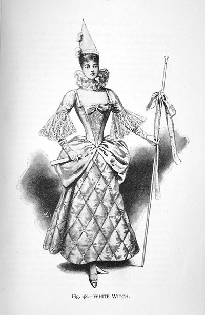 Late Victorian Fancy Dress Witches | Sexy Witch