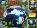 Helm AGV K3 SNI (Indonesia) Top Valentino Face