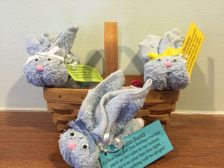 25 unique boo boo bunny ideas on pinterest boo boos wash cloth baby shower favor set of 10 adorable light blue boo boo bunnies baby blue negle Choice Image
