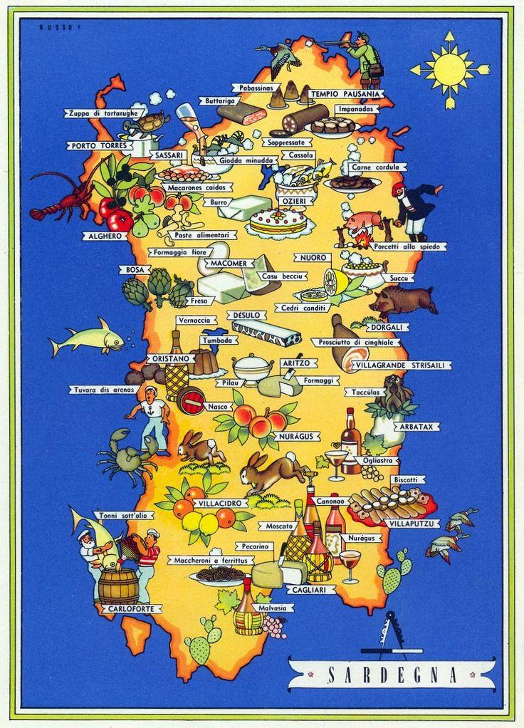 #Sardegna #tipico #Italia #ricettetradizionali  #enogastronomia #madeinitaly  #italianfood #authenticrecipes #expo2015 #prodottitipici #iloveitalianfood #carnevali.it ~The fascinating variety of traditional Italian regional cuisine