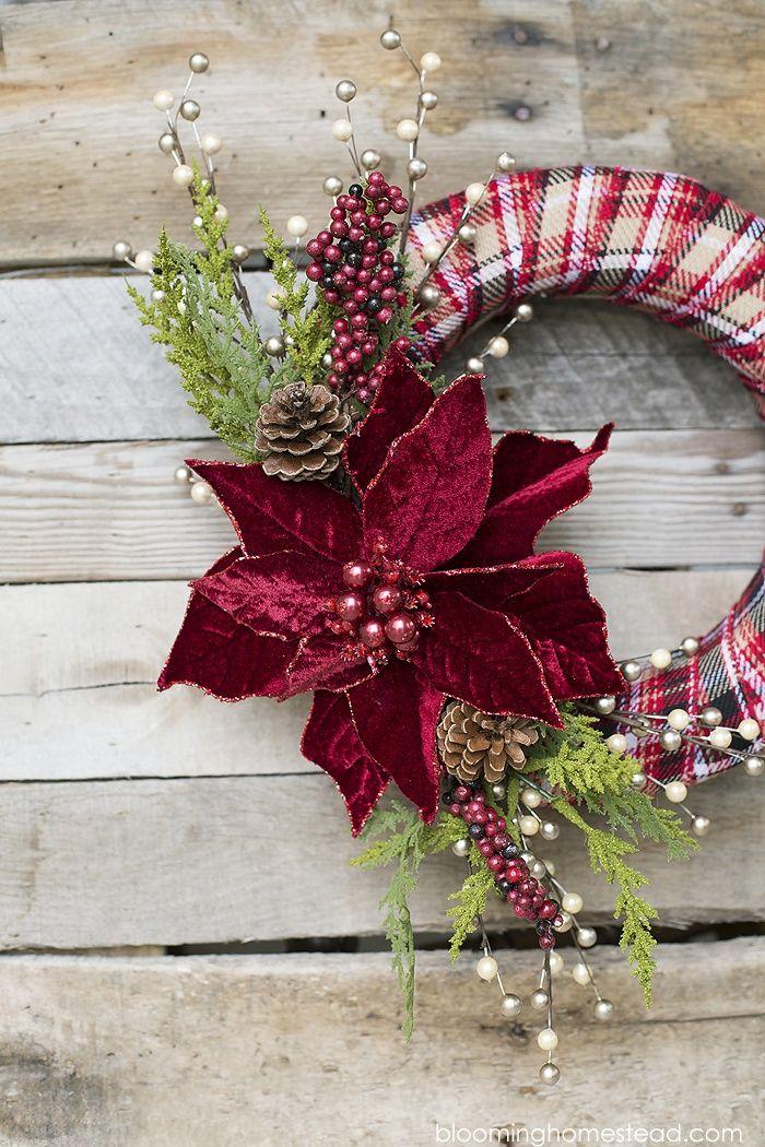 DIY Elegant Christmas Wreath