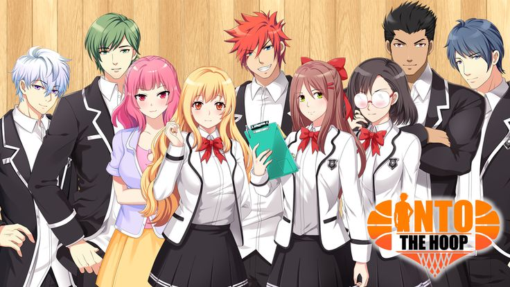 Into The Hoop ☆ Adult Visual Novel ☆ Dating Sim ☆ Game project video thumbnail