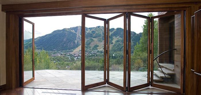 panoramic patio doors architectuur