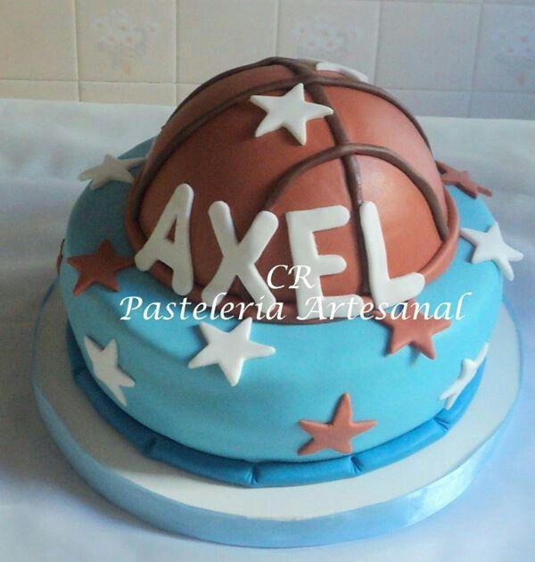 Torta pelota Basquet Ball
