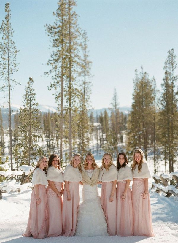 20 of the best winter bridesmaid dress styles for your leading ladies - Wedding Party