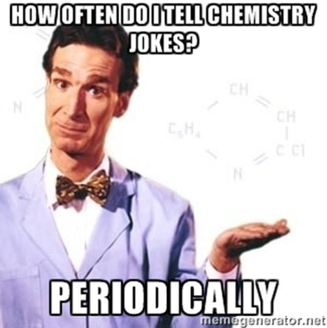 Best Chemistry Memes: Bill Nye - It's Science!