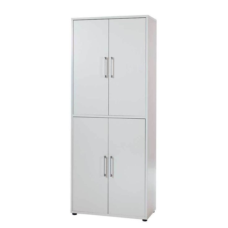 4 Türiger Büroschrank In Weiß 90 Cm Breit Jetzt Bestellen Unter: Https://