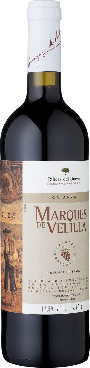 Marques de Velilla Crianza 2008: Spanischer Rotwein (12 Monate Barrique) im Angebot:  http://weinebilliger.de/marques-de-velilla-crianza-2008/