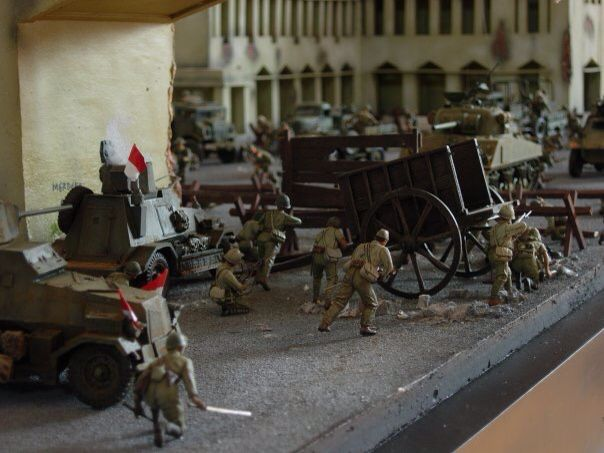 1/35 scale 10 nopember Surabaya 1945