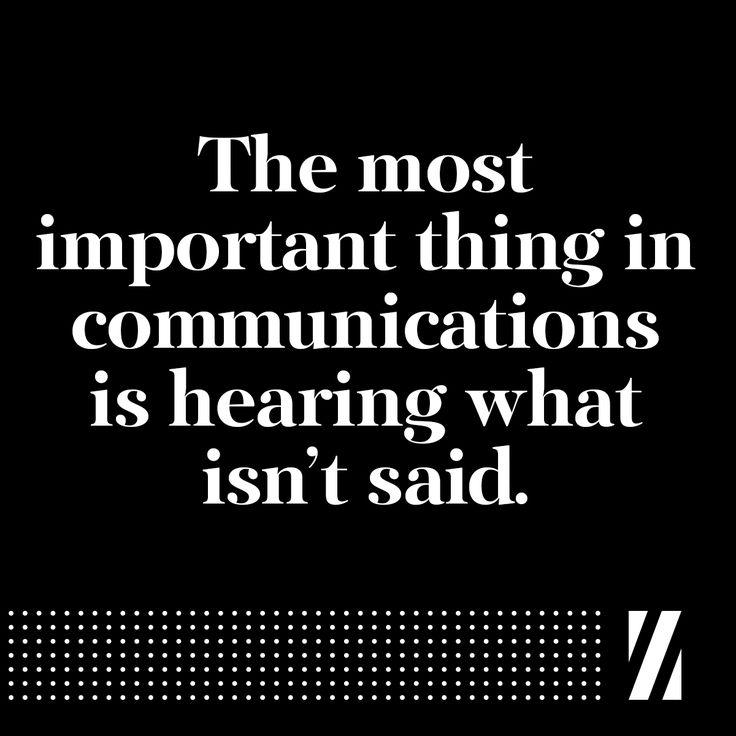 #inspiration #communications #unspoken