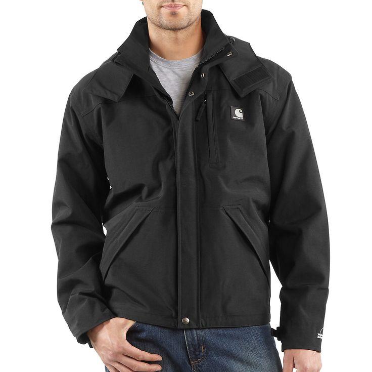 Men's Carhartt Waterproof Breathable Rain Jacket