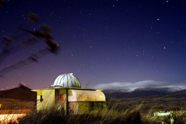 """Descubre el cielo de #Soria en el Observatorio Astronómico """"El Castillo"""" #TurismoResponsable #Travelinspiration #ResponsibleTravel #Spain"""