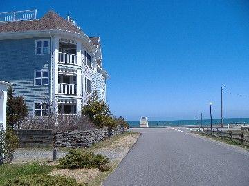 Oak Bluffs condo rental - Seaview Condo 2nd floor on Inkwell Beach ...