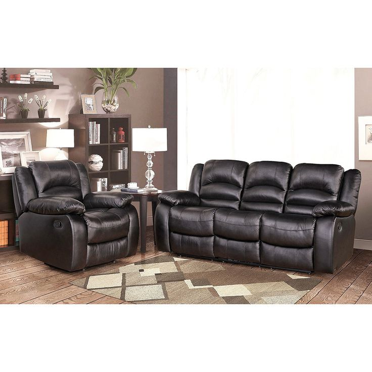 Best Leather Sofas In Us: Abbyson Brownstone Premium Top-grain Leather Reclining