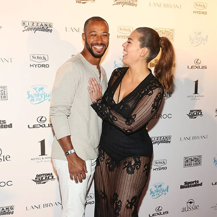 The plus-size model and her husband, Justin Ervin, don't let a little thing like 3,000 miles stop their chemistry.