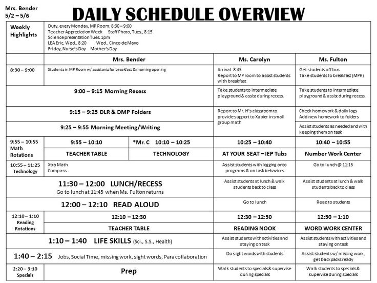 This is the first page of my weekly lesson plans. I think the daily overview is…