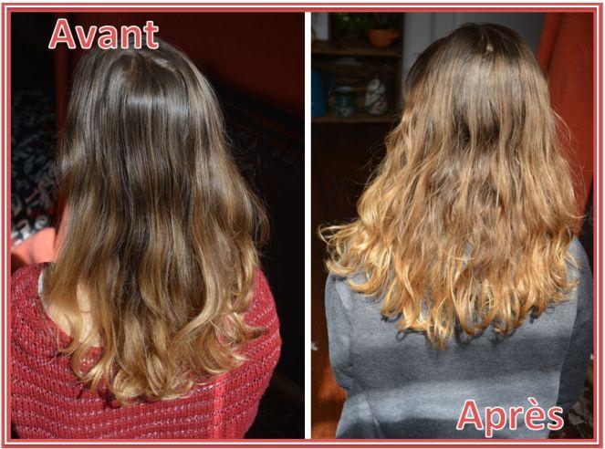 Soin cheveux maison avant couleur