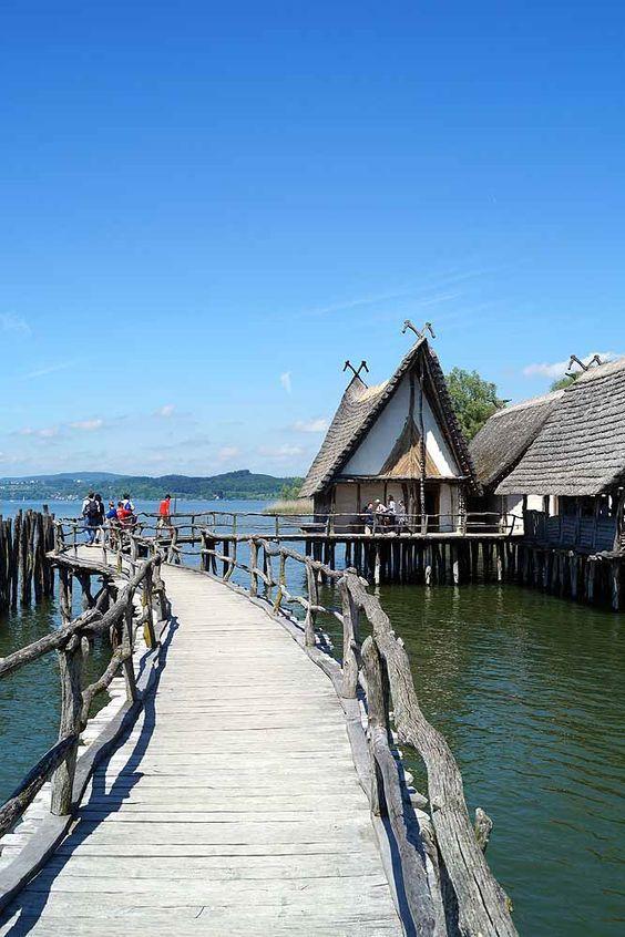 Unesco Pfahlbauten in Unteruhldingen am Bodensee #bodensee