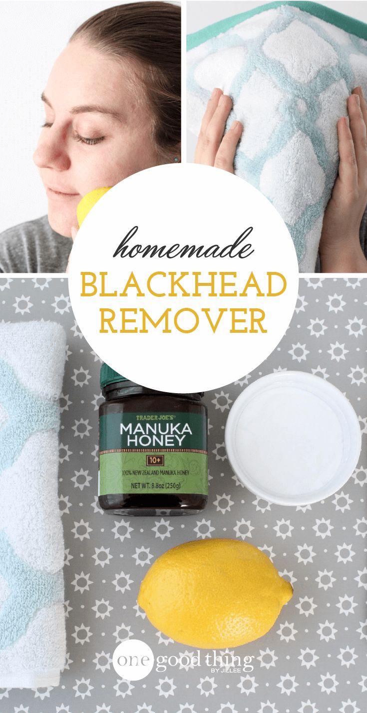 Homemade Blackhead Remover