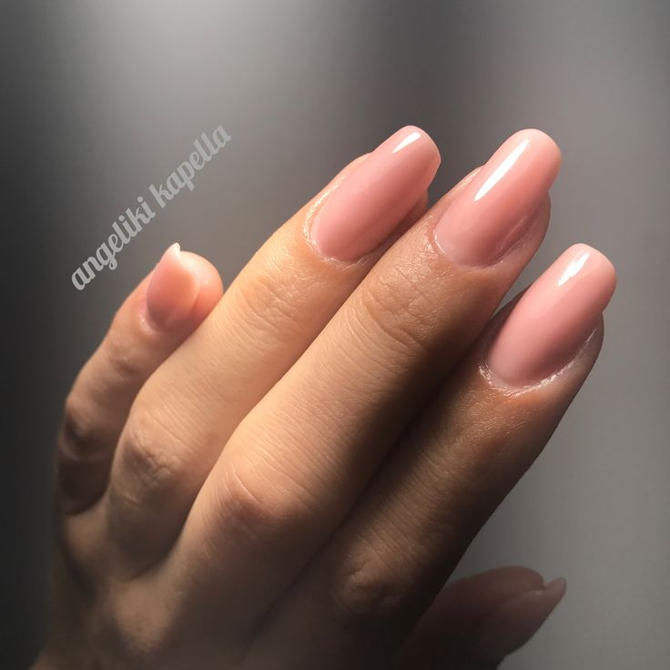 Color top cover perfectnails, nude, acrylic nails