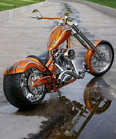 Sweet custom chopper