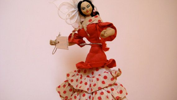 Collectible Vintage Layna Doll Made in Spain por AntiguaNM en Etsy, $69.00