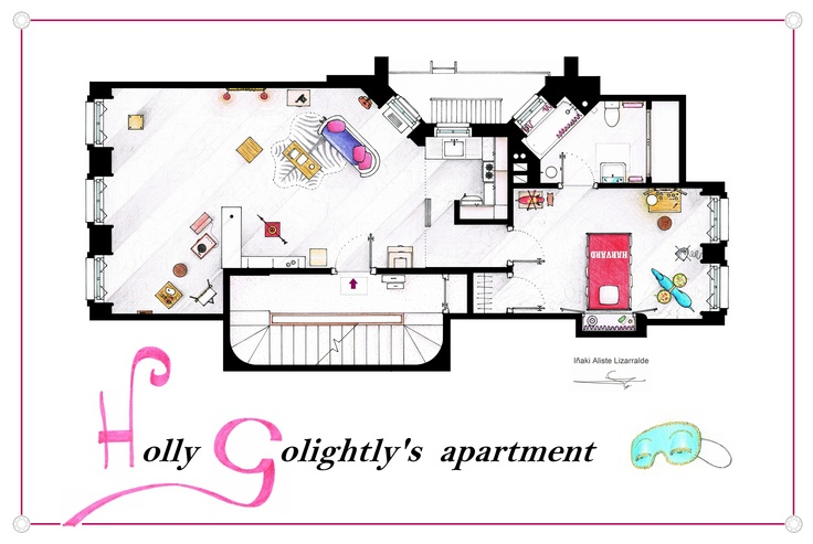 37 best TV Floorplans images – Sitcom House Floor Plans
