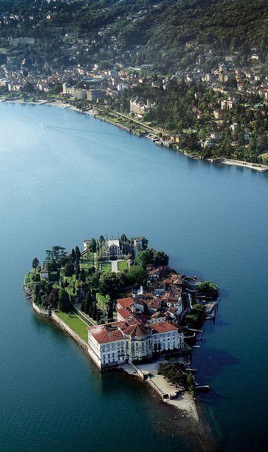 Isola Bella, Lago Maggiore, Piemonte, Italia Har aldrig vart på ön, men funderat ett flertal gånger