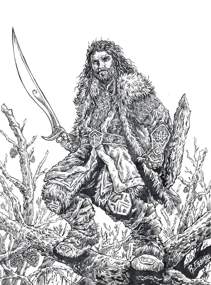 Thorin - Escudo de Carvalho by *ricardoafranco on deviantART