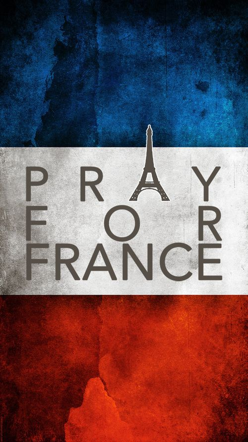Pray for France? No, religion was what caused this shit to happen in the first place! I will pray to no God for this kind of shit!