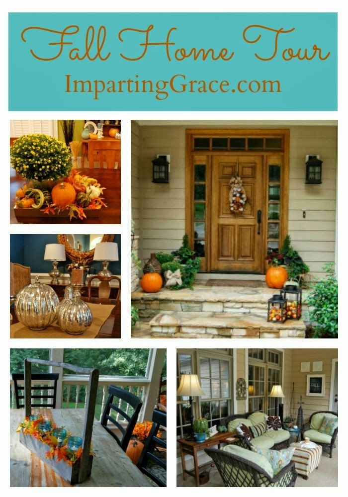 Best Fall Home Tours Images On Pinterest Holiday Ideas
