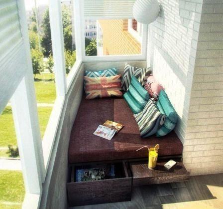 Идеи для балкона - Дизайн интерьеров | Идеи вашего дома | Lodgers