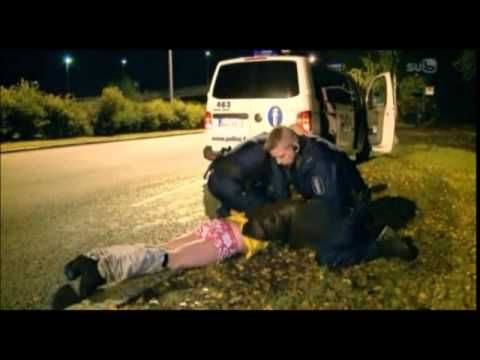 Finnish cops wrestle - YouTube