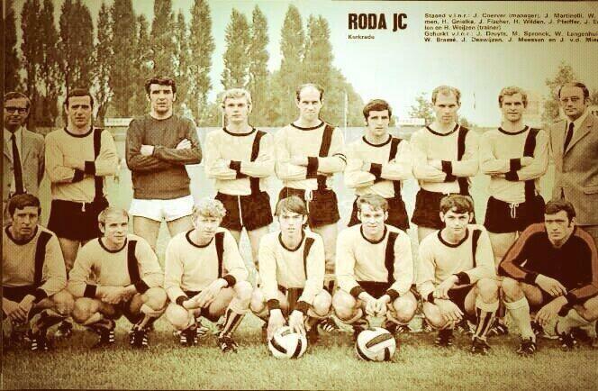 Selectie Roda JC Kerkrade uit mijn geboortejaar '71 - '72