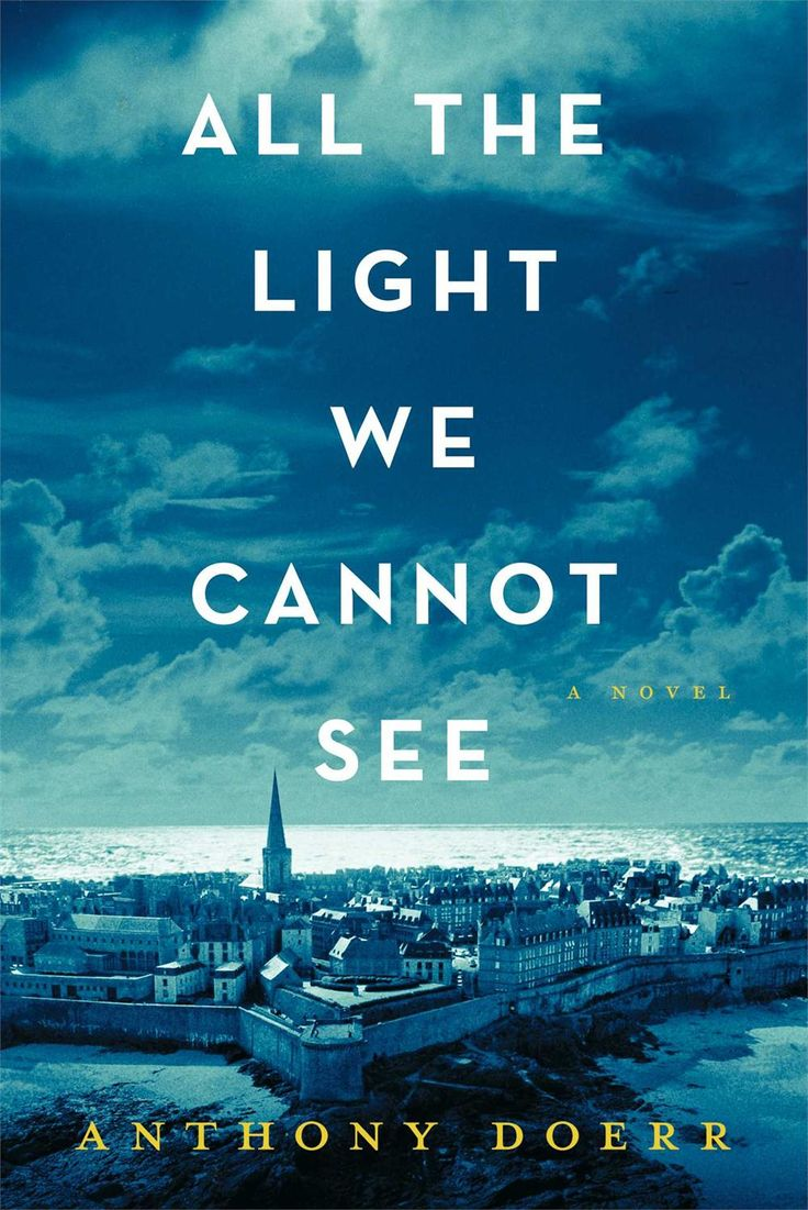 """All the Light We Cannot See"" by Anthony Doerr You're already dreaming of holiday vacation…meet the book you need to pack. About two kids who grow up on opposite sides of WWII whose paths eventually cross. If you like historical fiction, you'll love this. If you don't like historical fiction, you'll also love this."