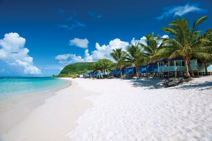 Samoa Tourism Authority : Lalomanu Beach