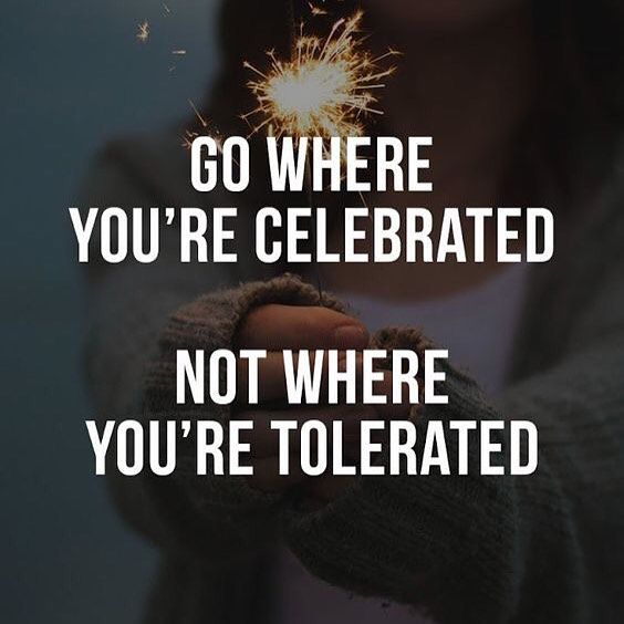 """You posted on Instagram: When a person is celebrated they thrive, but when they are taken for granted and are just """"tolerated"""" they wither and die.  Don't let people take you for granted!  http://www.lisamariehughes.com/GetLeads  #quotes — view photo"""